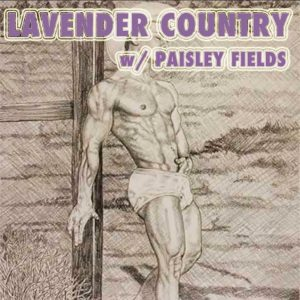 Memory Circle: Lavender Country with Paisley Fields